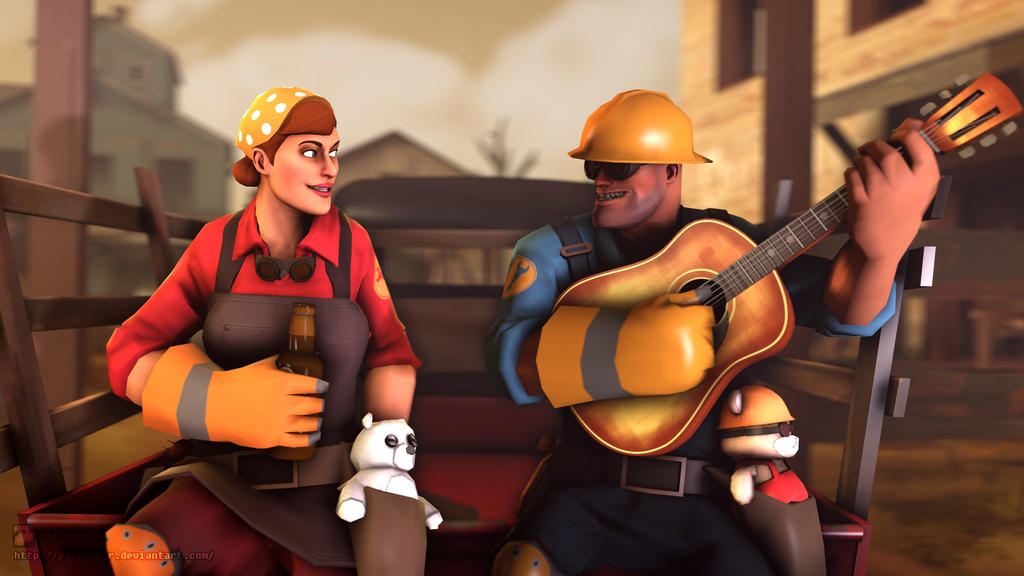 SFM Poster:  Summer's Day by PatrickJr