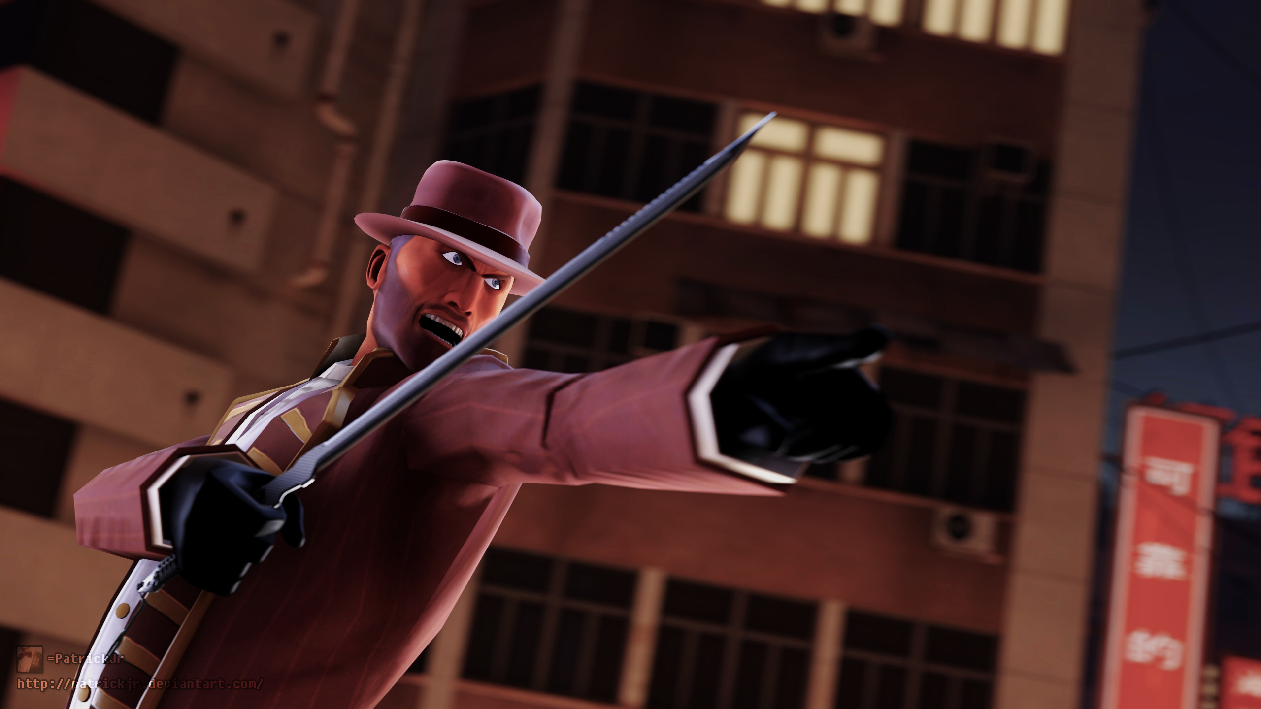 SFM Poster: The Spy's Rage by PatrickJr