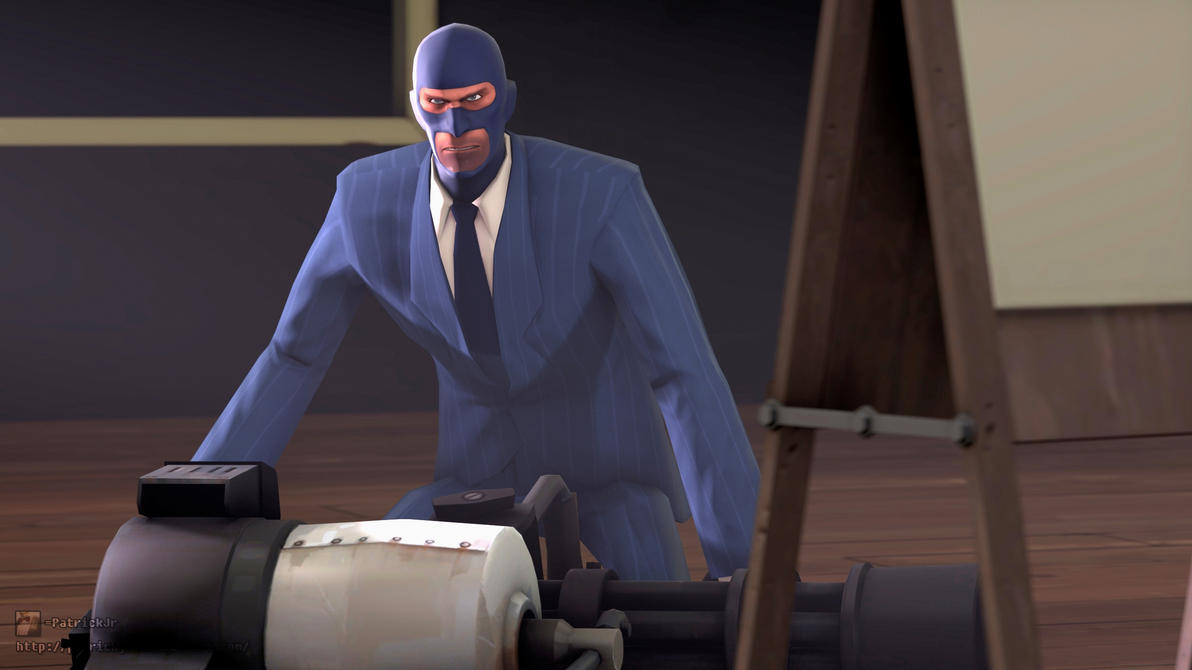SFM Poster: Spy Weaponizer by PatrickJr