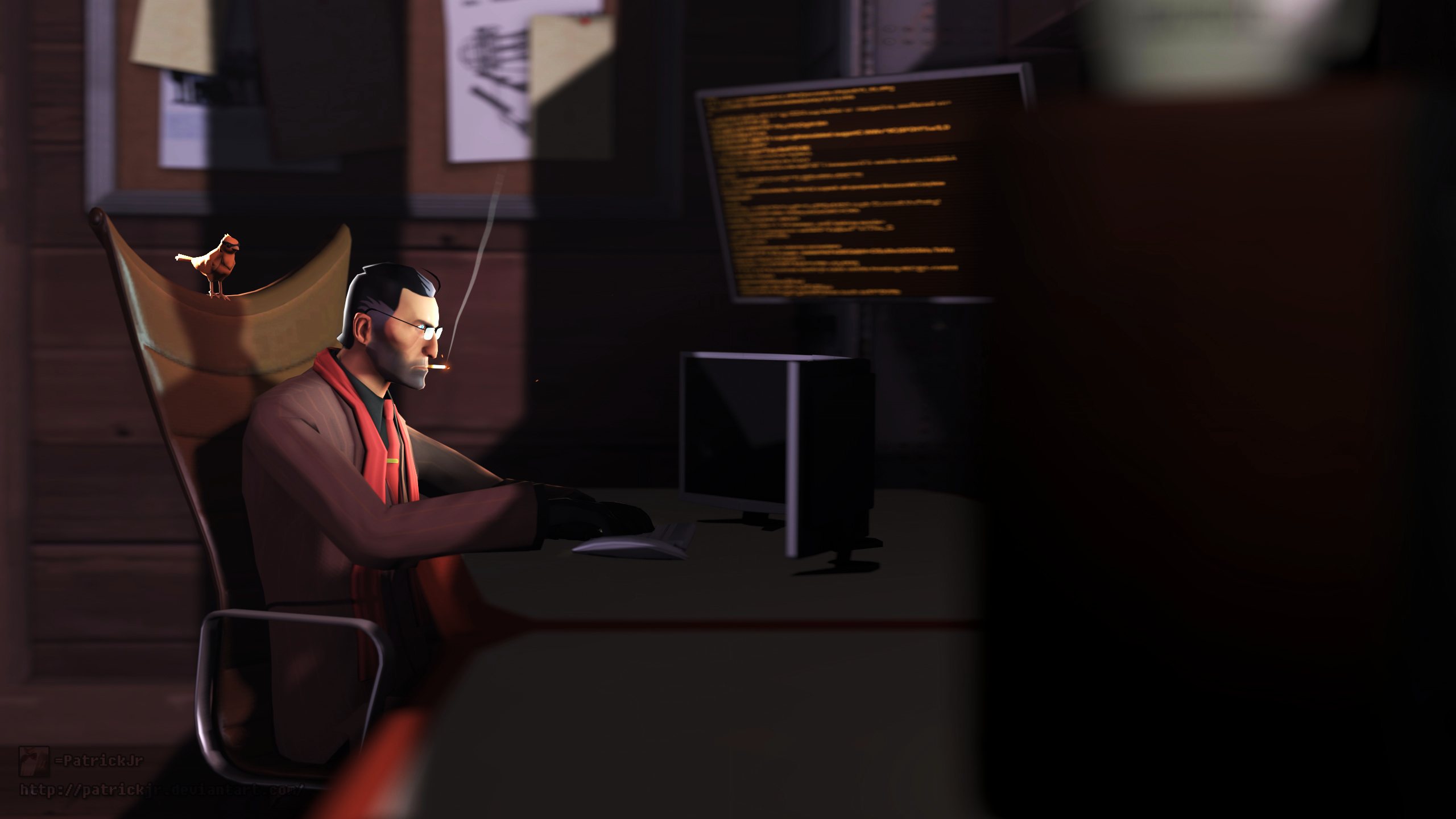 SFM Poster: The Mastermind by PatrickJr
