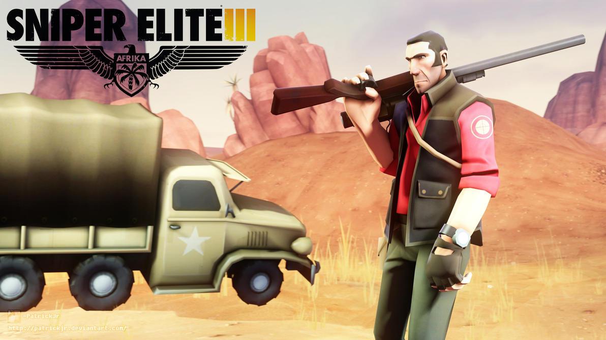 SFM Poster: Sniper Elite 3 by PatrickJr