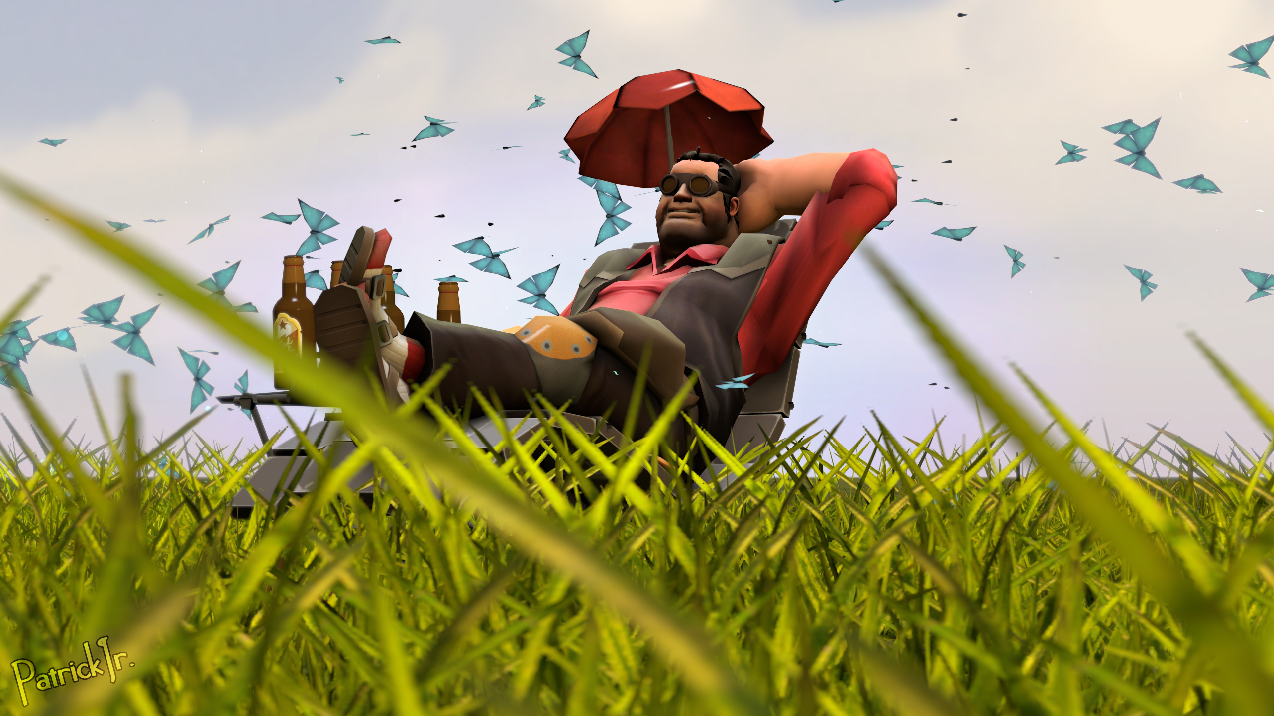 SFM Poster: Lazy Engie by PatrickJr