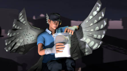 SFM Poster: Confused Ash