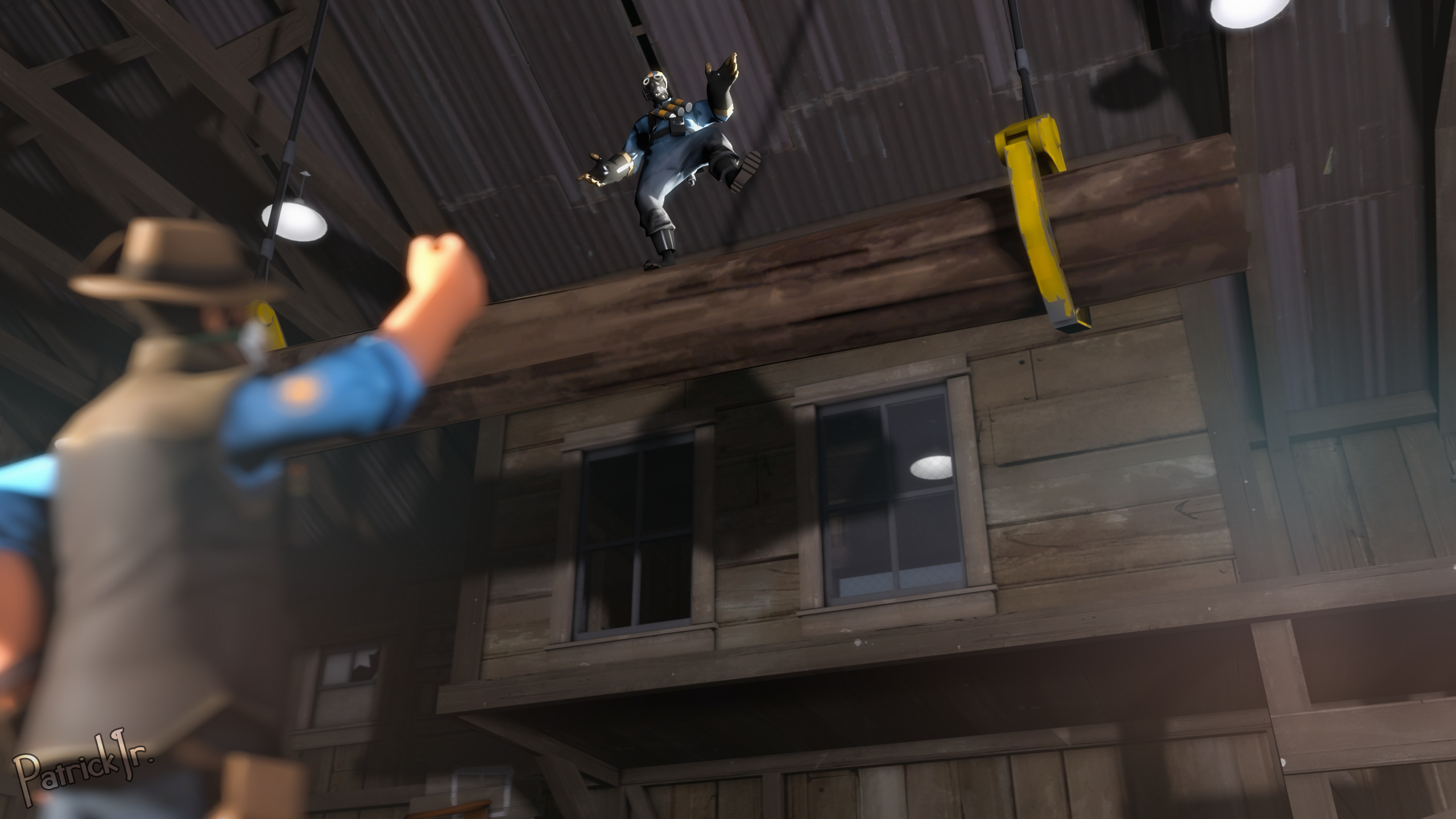 SFM Poster: Get Down! by PatrickJr
