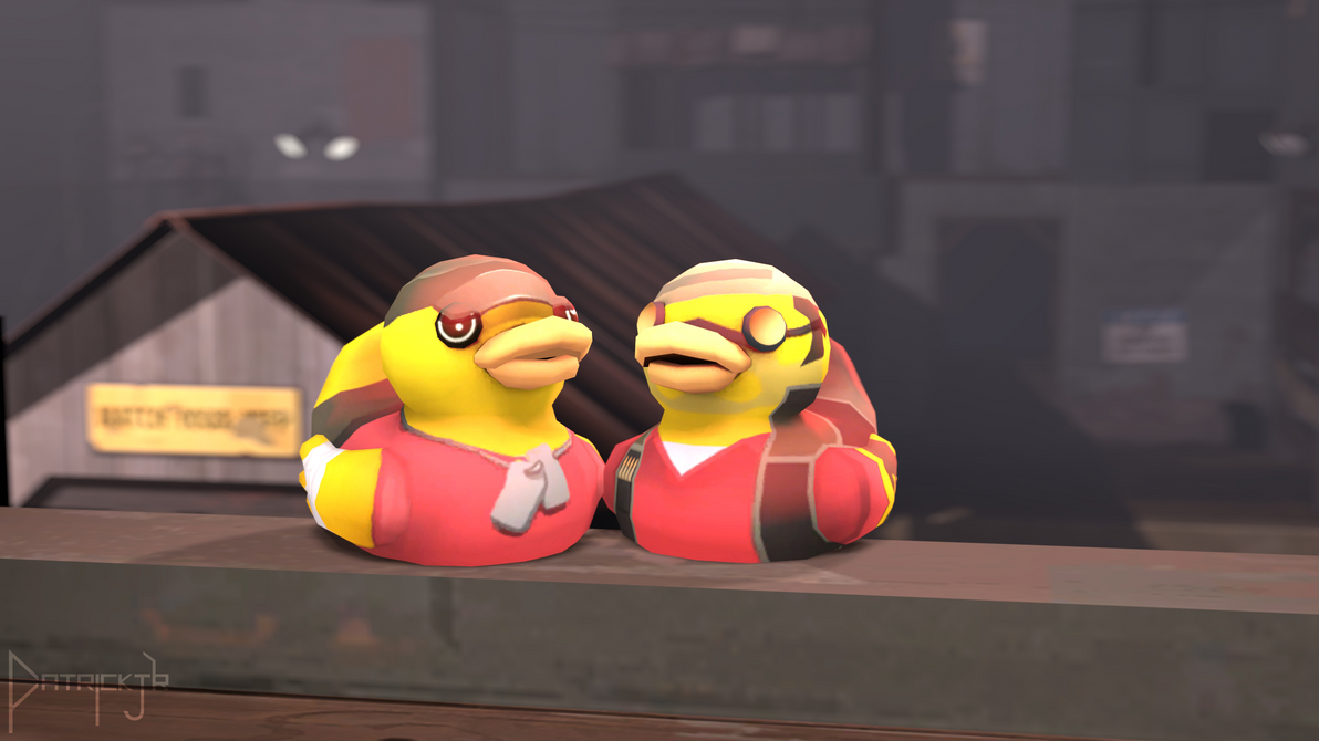 SFM Poster: Sniper Scout Duck by PatrickJr