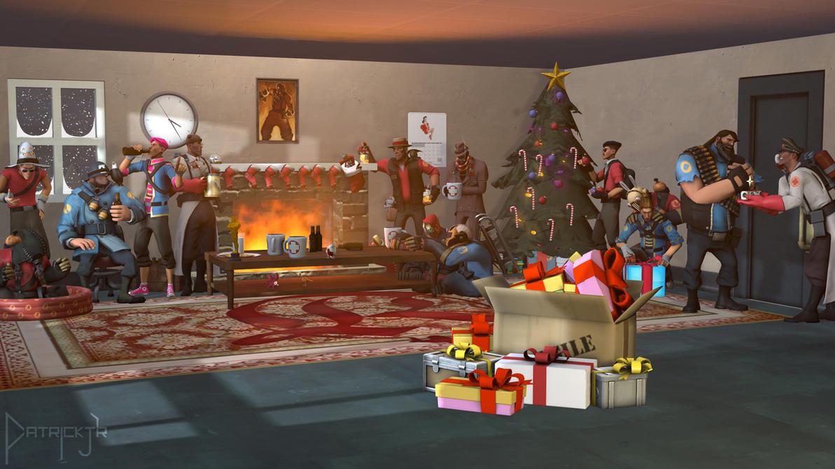 SFM Poster: Merry Christmas by PatrickJr
