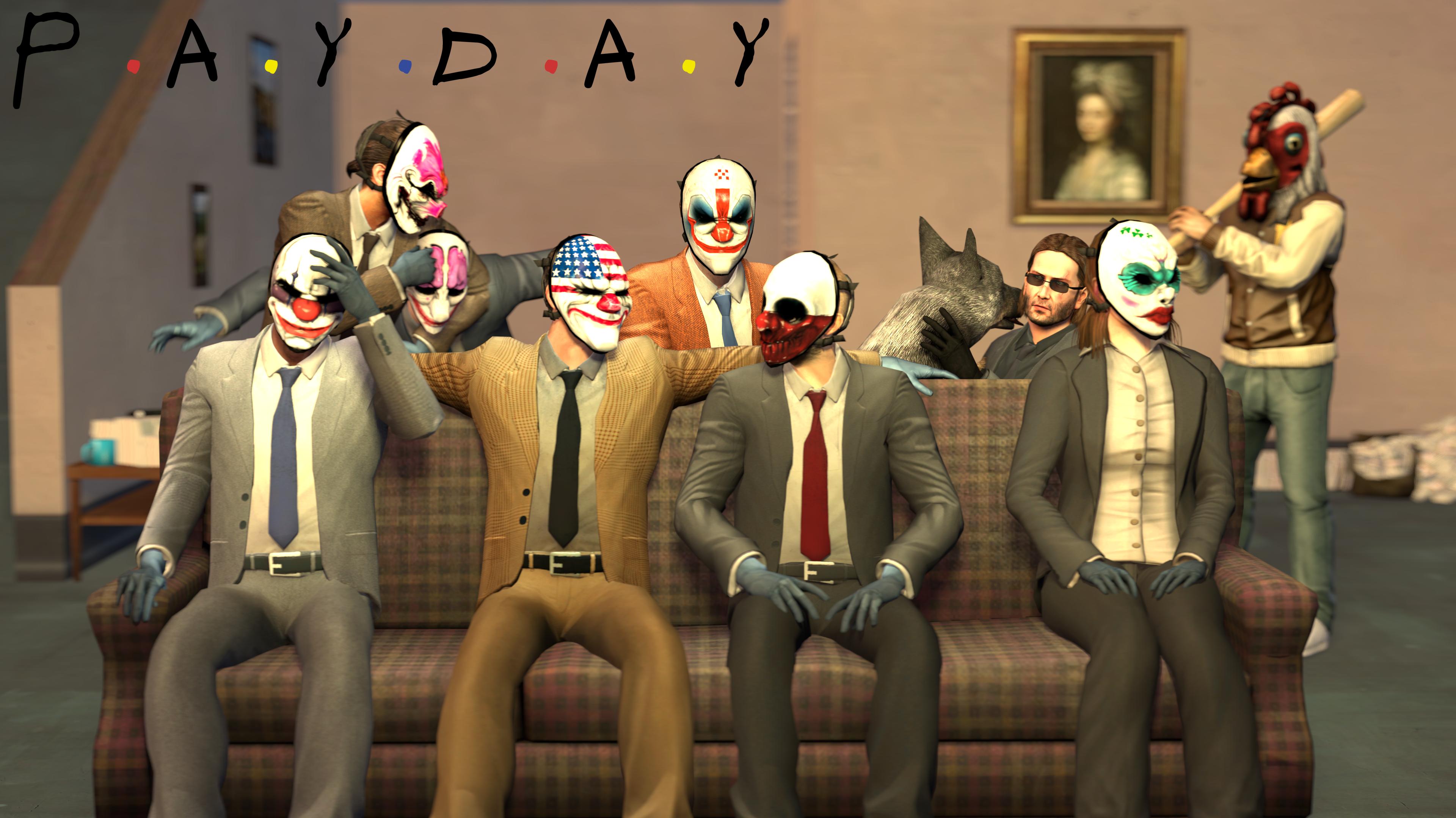 SFMVideo: Payday the Sitcom by PatrickJr
