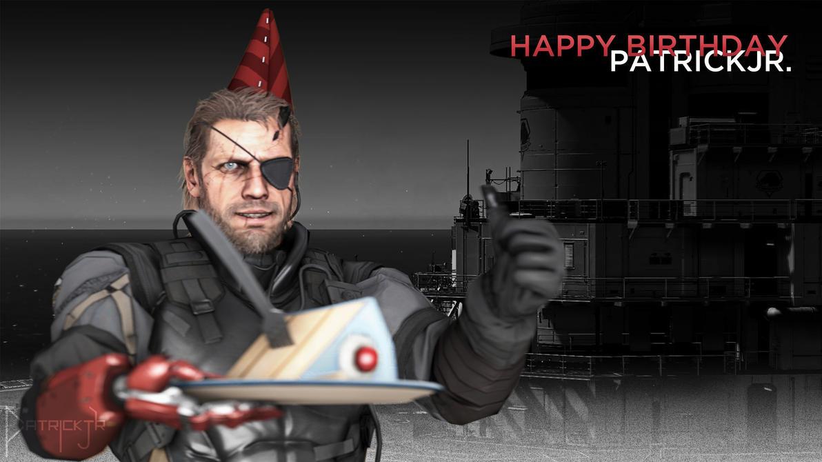 Happy Birthday PatrickJr. by PatrickJr