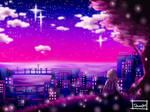 Stars on the sky by Taltau