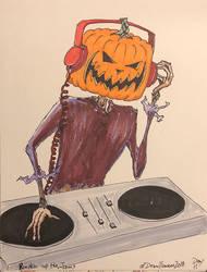 Pumpkin Up the Jams by CybertronianAllstar