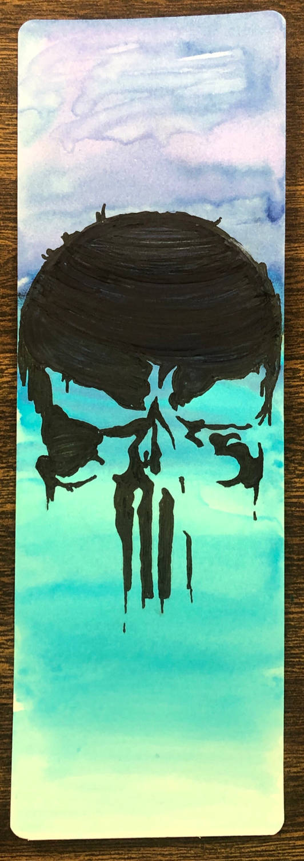 Punisher Bookmark by CybertronianAllstar