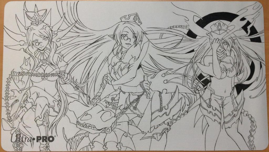 Palemoon Playmat by animeninjayaya