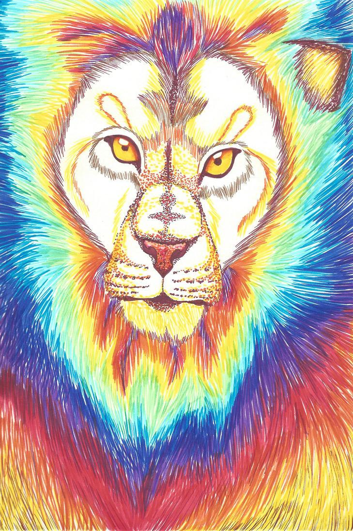 Lion by animeninjayaya