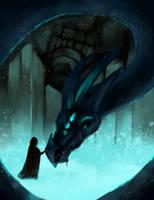 Blue Dragon by Drovenna