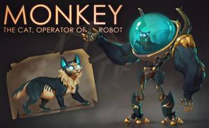 [CLOSED] Adopt auction -  MONKEY