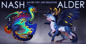 [CLOSED] Dragons Adoptable Auction