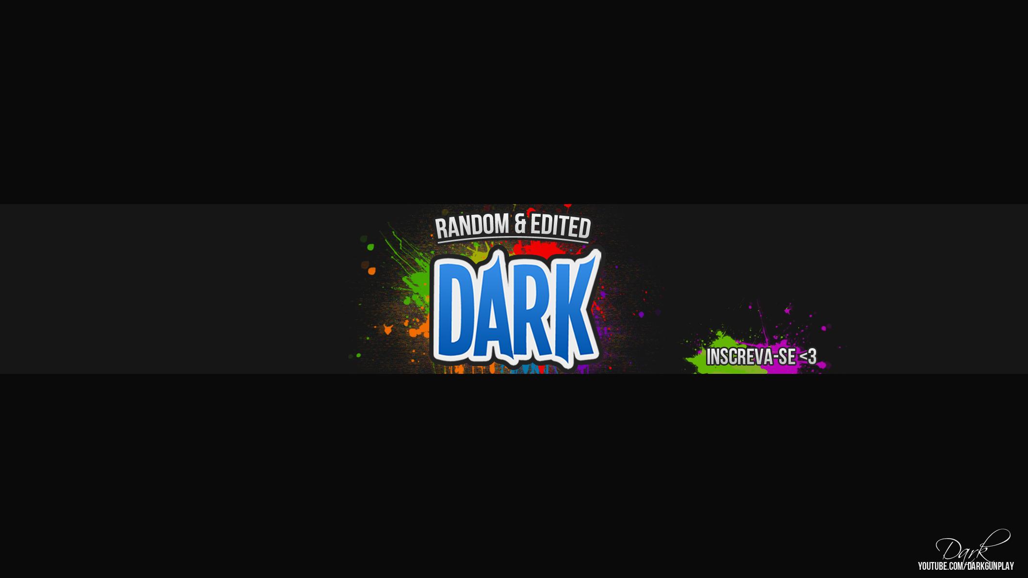 Dark Banner V4 youtube by darkgunplay on DeviantArt
