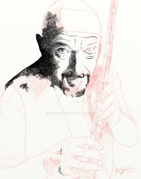 Ian anderson (Jethro Tull) WIP.