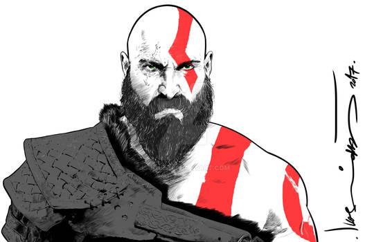 Kratos - God Of War.