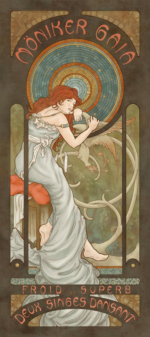Moniker Gaia Poster by Asraniel