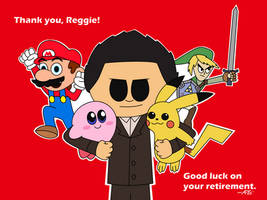 Thank You, Reggie by AnimationFan15
