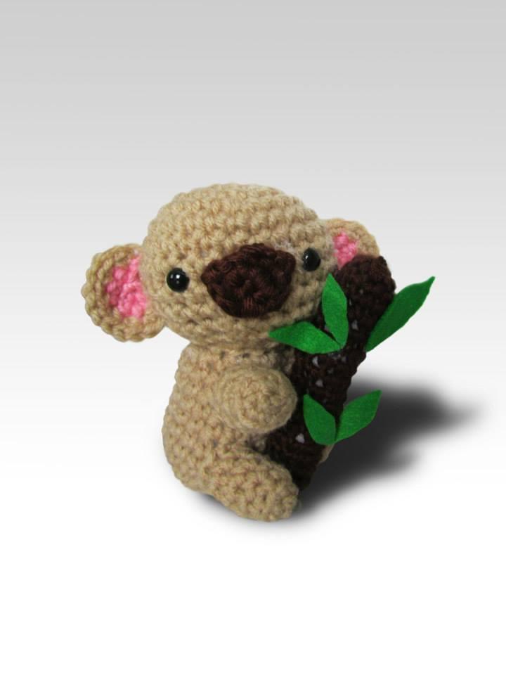 Llavero Koala Amigurumi : Koala Amigurumi by Phisican on DeviantArt