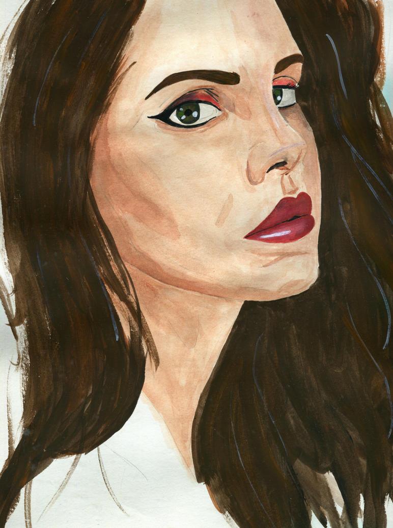 Lana Del Rey by TaurielSaerwen