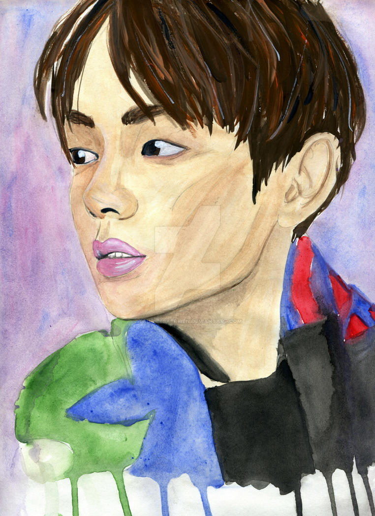 Kim Tae-hyung by TaurielSaerwen