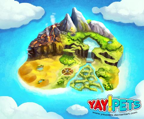 Tootootoo island by yaypets