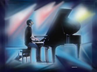 The Pianist by SARAYA-PFEIFFER