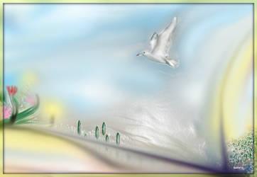 Flying by SARAYA-PFEIFFER