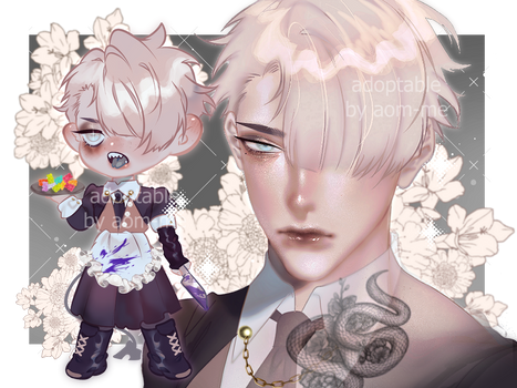 (close) adoptable maid boy