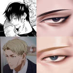 toji and nanami eye