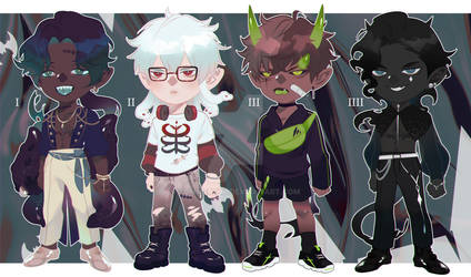 (!OPEN!) Adoptable SP trick or treat! 3