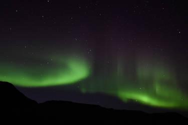 Northern lights by IGhengisKhanI
