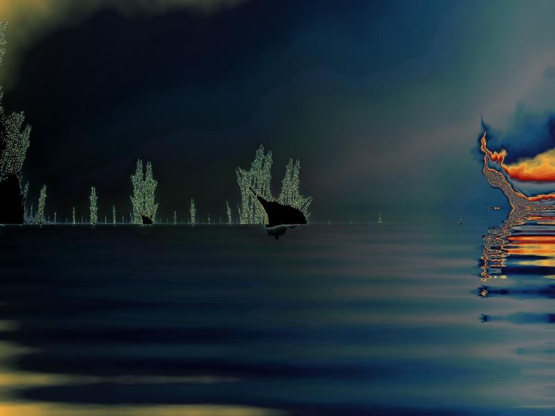 Battle-ship Fractal by ophidiaster