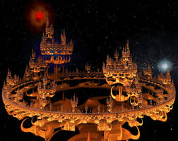 Ancient Alien Royal Palace by BrandonCWatson
