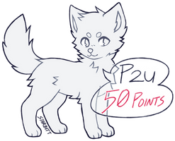 P2U Canine Lines (MS Paint Friendly) by STARBITT