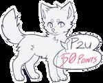 P2U Canine Lines (MS Paint Friendly)