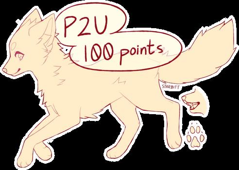 P2U Fox/Canine Lines 2 (MS Paint Friendly)