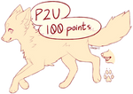 P2U Fox/Canine Lines 2 (MS Paint Friendly)