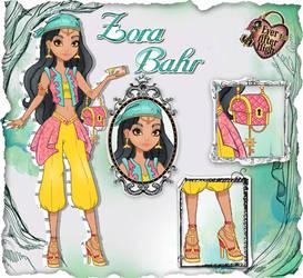 EAH OC - Zora Bahr by Inu-Akamaru