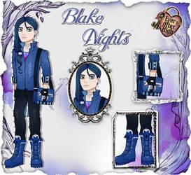 EAH OC - Blake Nights by Inu-Akamaru