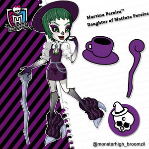Monster High Ghouls From Broomzil-Martina Pereira