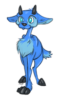 Blue Ixi by Maxisamut