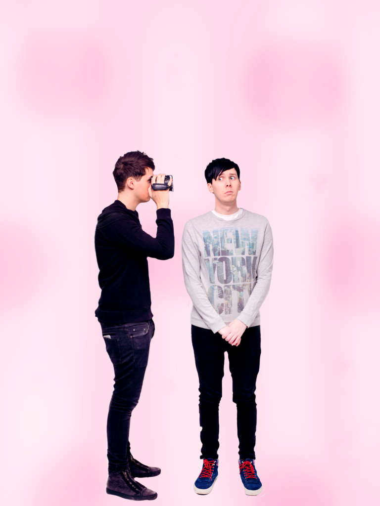 Dan And Phil Wallpaper By That 1 Girl Artist