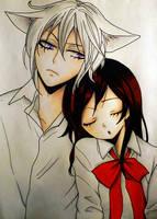 Tomoe and Nanami | Kamisama Hajimemashita by encixx