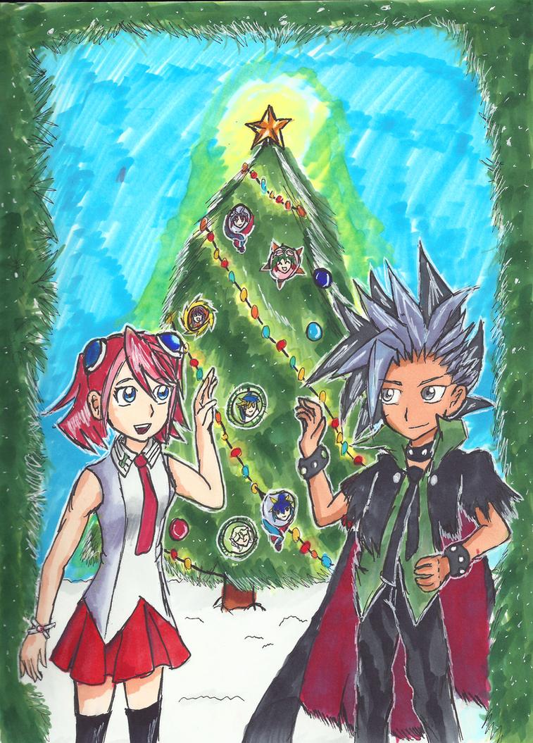 Yu-Gi-Oh! ARC-V Christmas with Yuzu and Yuto by Blue-Laserbeam on ...