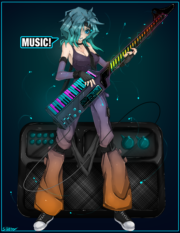 More Music Girl by Slugbox