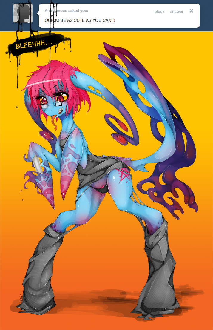 Cute as you can bellleleehhhh by Slugbox